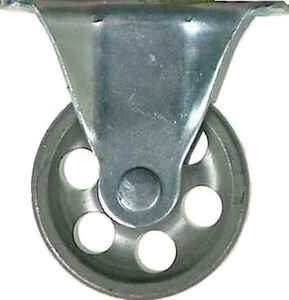 Shepherd  2 in. Dia. Cast Iron  Caster  125 lb. 1 pk