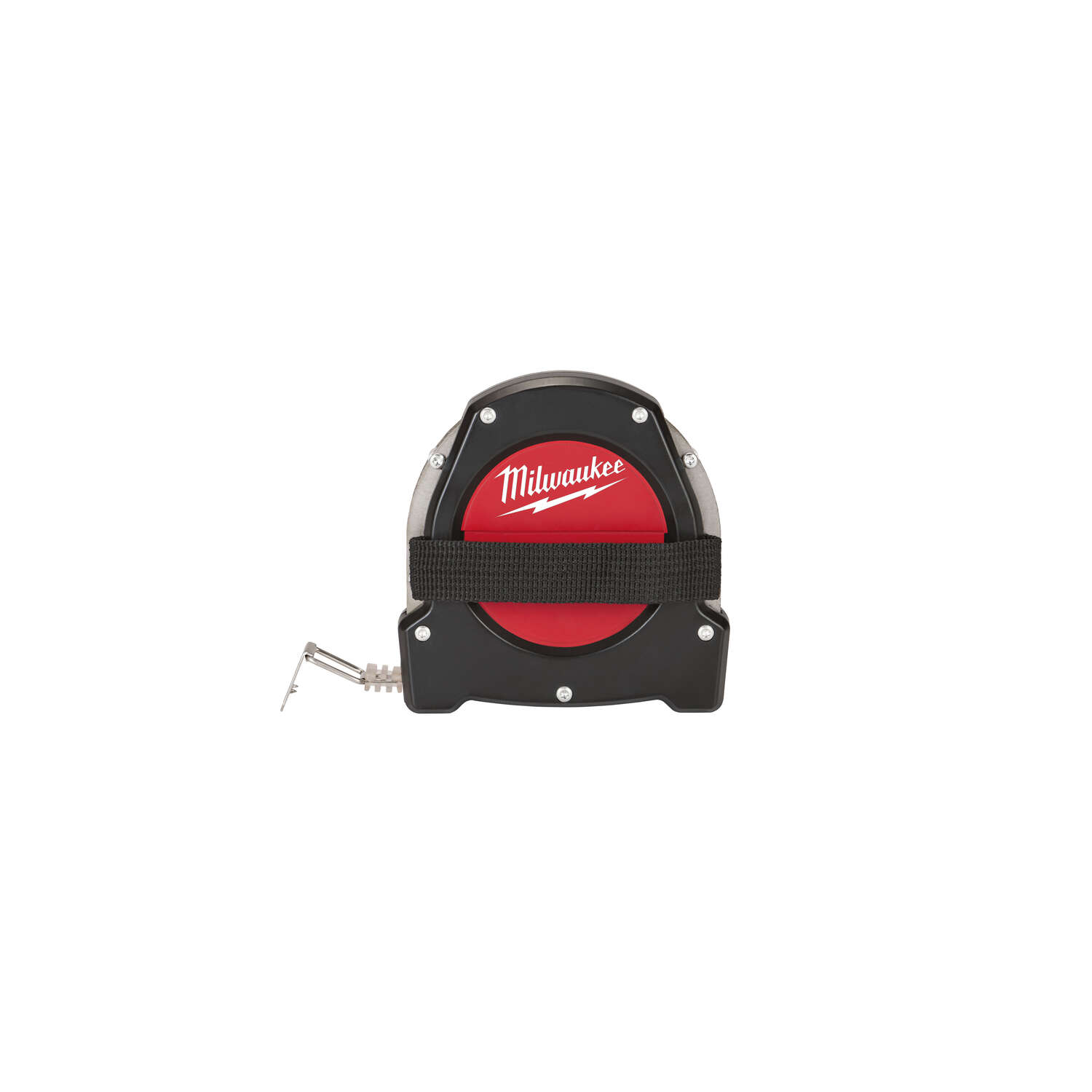Milwaukee  100 ft. L x 1.5 in. W Closed Reel  Long Tape Measure  Red  1 pc.