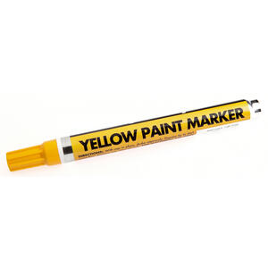 Forney  Yellow  Valve Tip  Paint Marker  1 pk