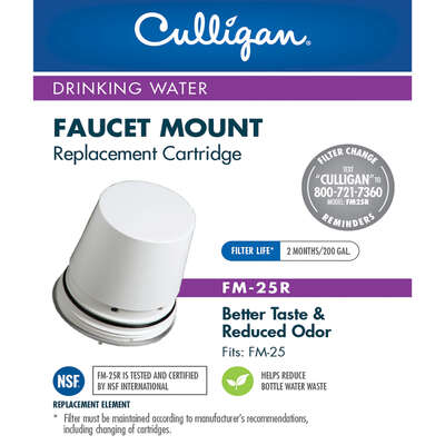 Culligan  Faucet Mount  Replacement Faucet Filter  For Culligan FM-25
