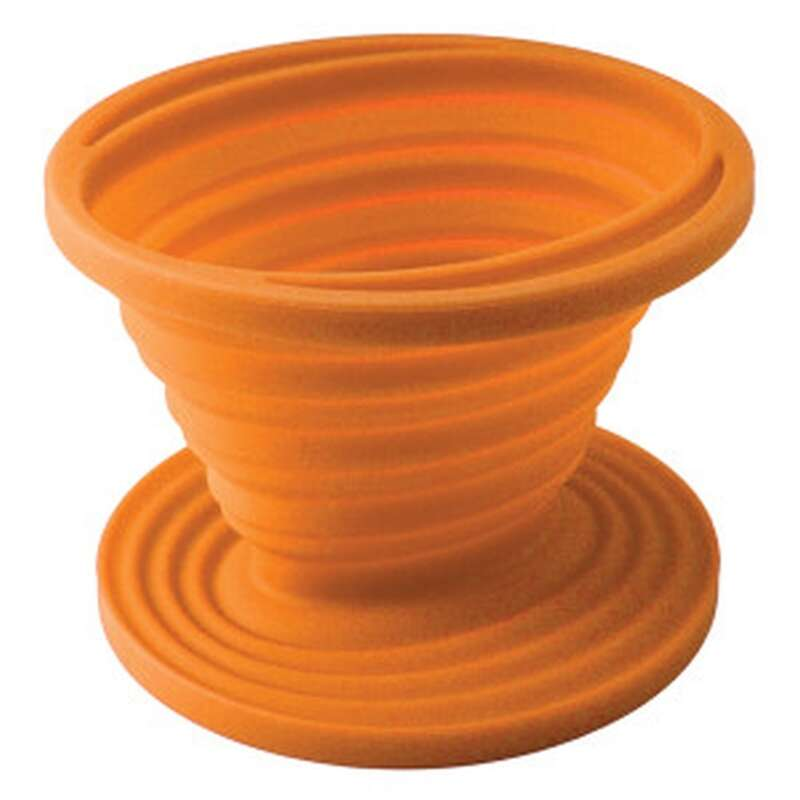 UST Brands  FlexWare  Orange  Coffee Drip  3.25 in. H x 4.5 in. W x 4.5 in. L 1 pk