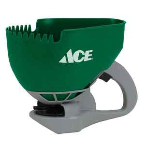 Ace  Handheld  Spreader  For Fertilizer/Grass Seed/Ice Melt 2.5 gal.