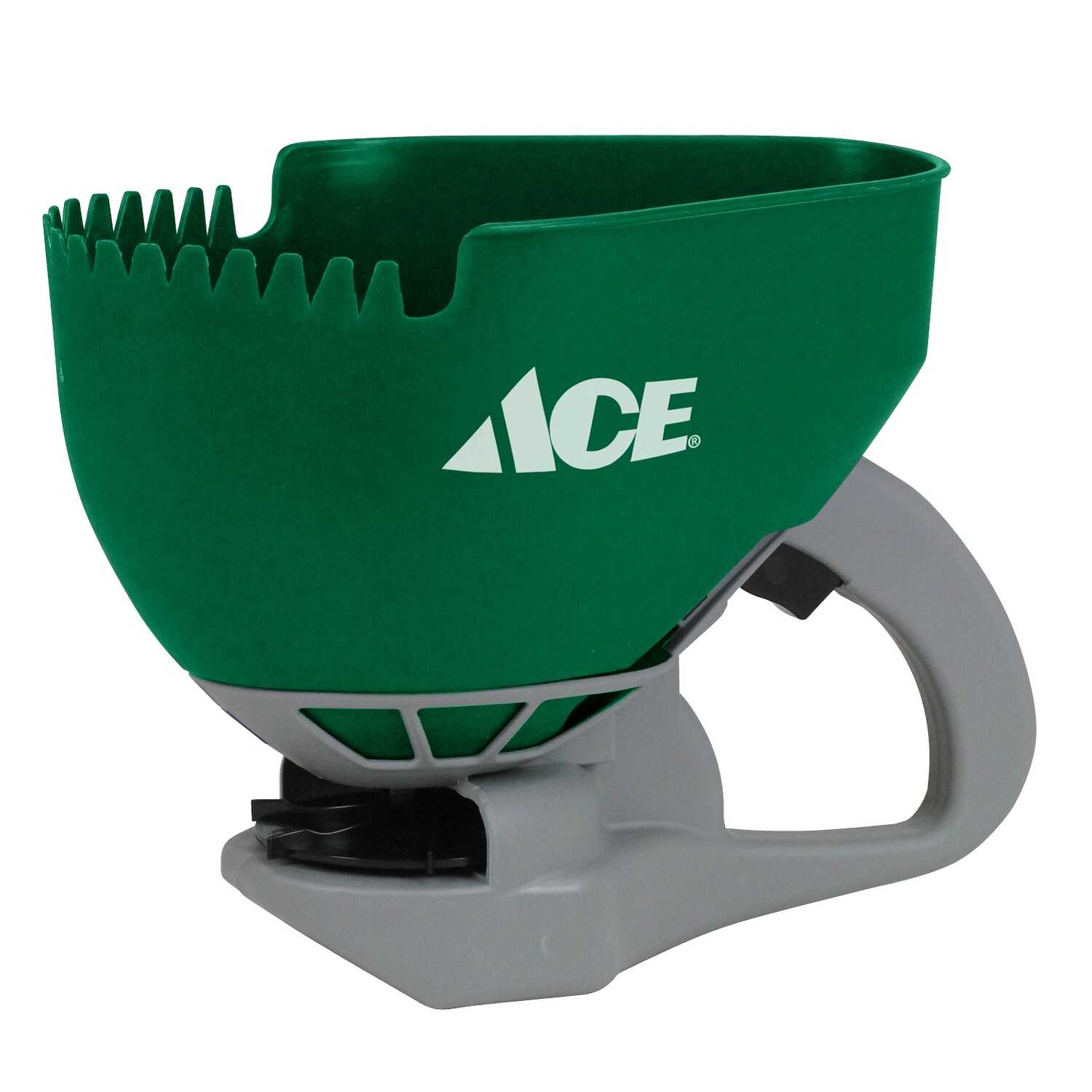 Ace  Handheld  Spreader  For Fertilizer/Grass Seed/Ice Melt 2.5 lb.
