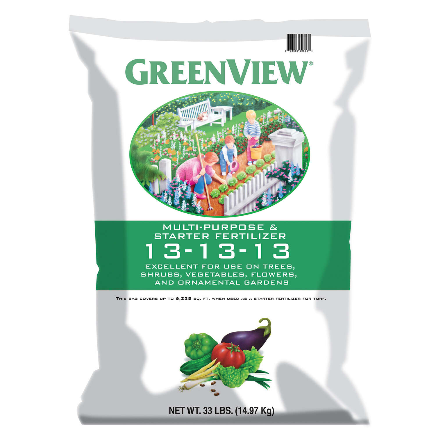 GreenView  13-13-13  Fertilizer