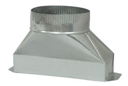 Deflect-O  7 in. Dia. x 10 in. L Galvanized Steel  Duct