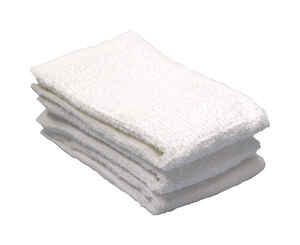 Ritz  White  Cotton  Bar Mop Dish Cloth  3 pk