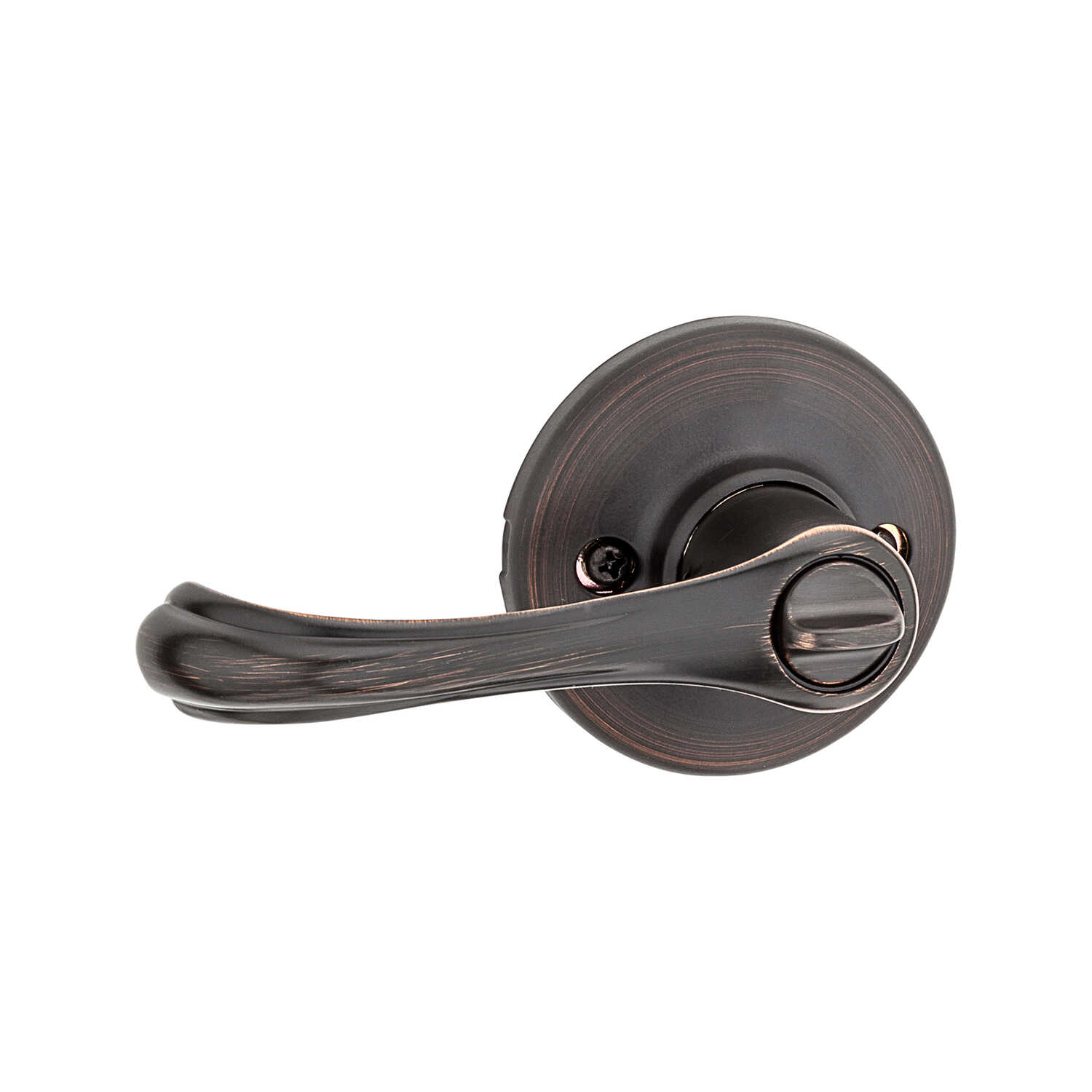 Weiser  Alfini  Venetian Bronze  Privacy Lockset  ANSI/BHMA Grade 3  1-3/4 in.