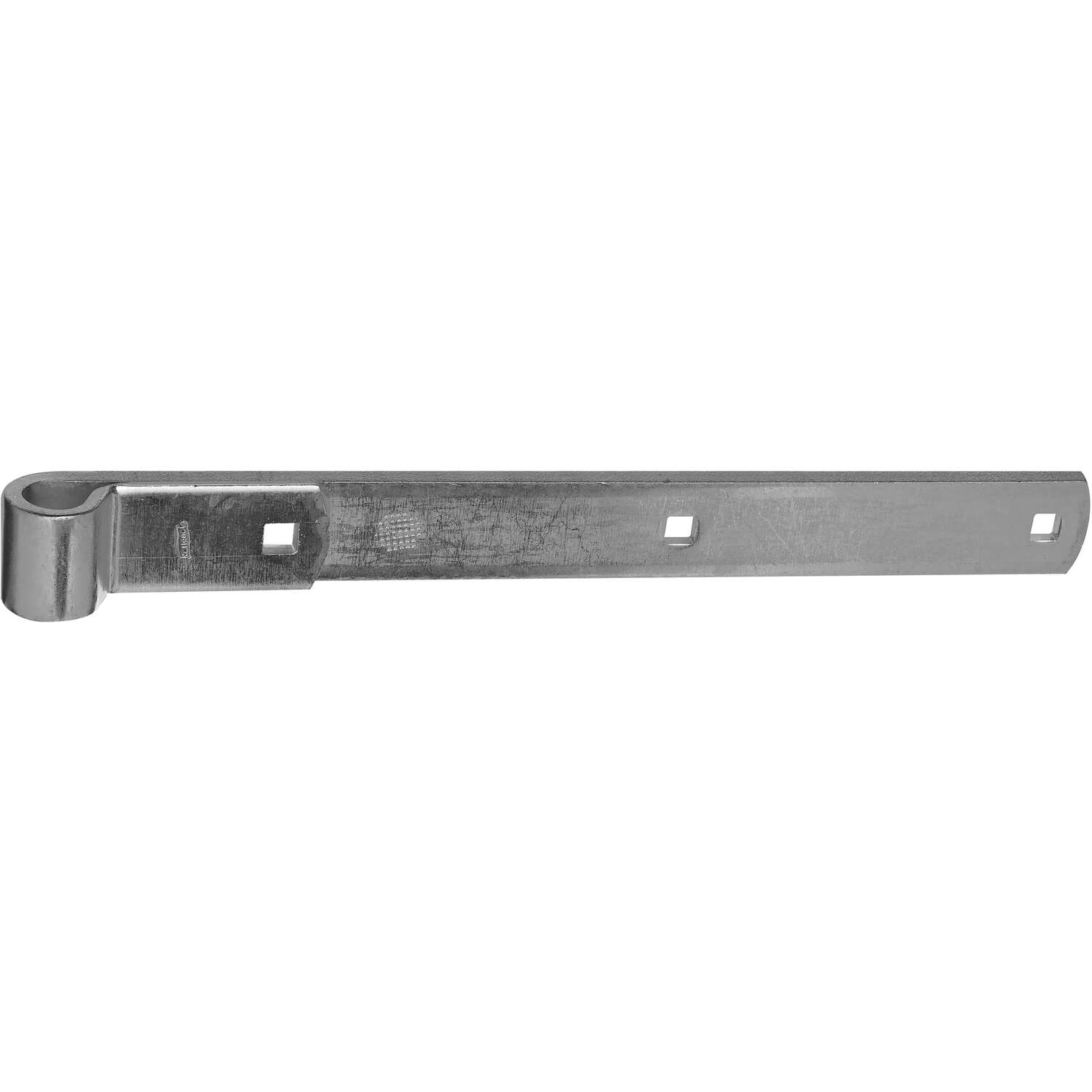 National Hardware  14 in. L Zinc-Plated  Hinge Strap  1 pk