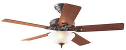 Hunter Fan Astoria 52 in. New Bronze LED Indoor Ceiling Fan