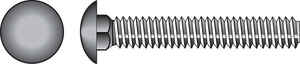 Hillman  5/16 in. Dia. x 8 in. L Zinc-Plated  Steel  Carriage Bolt  50 pk