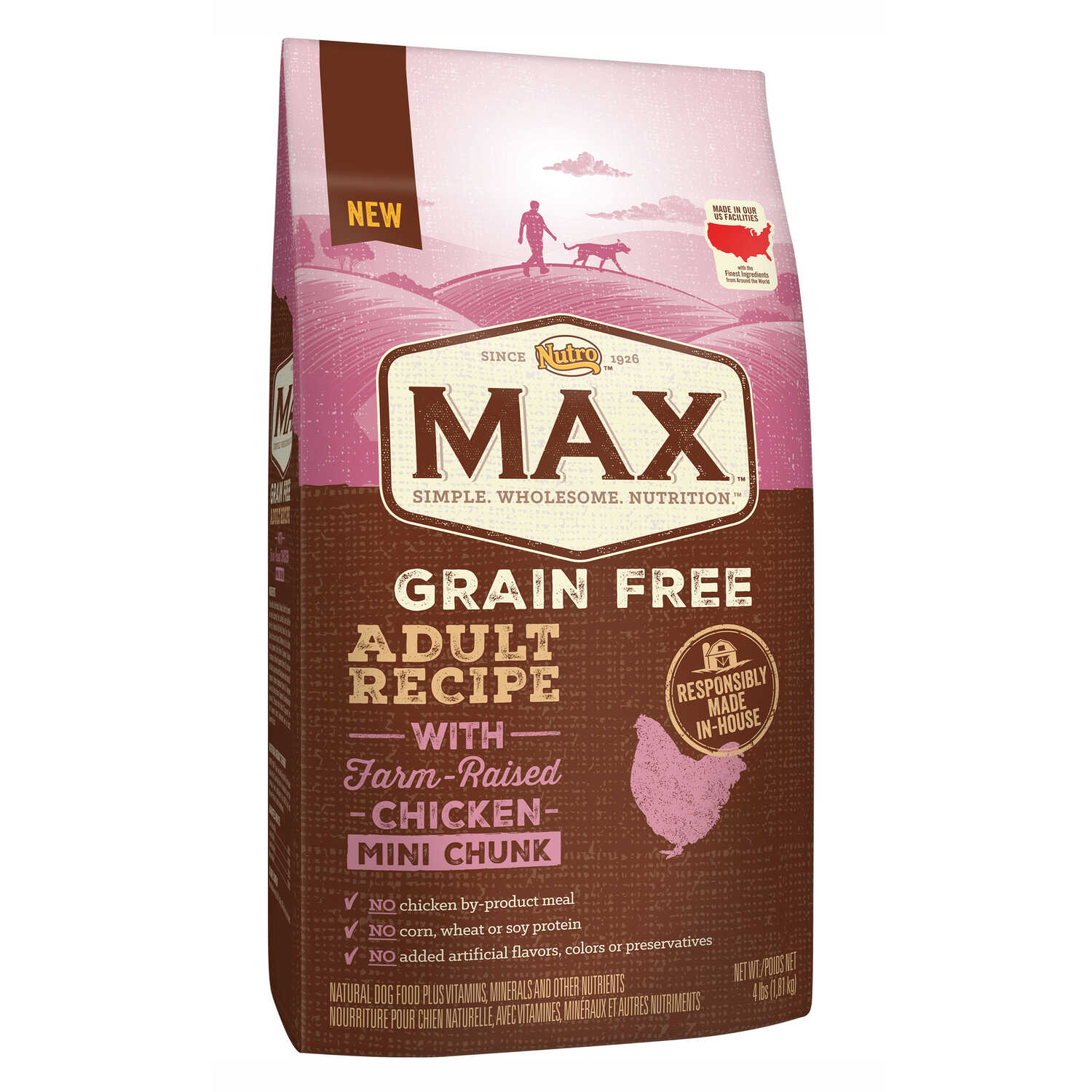 Nutro  Max  Grain Free Chicken  Dog  Food  4  Grain Free