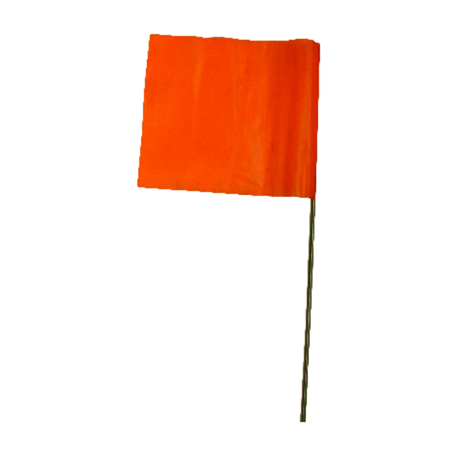C.H. Hanson  15 in. Orange  Marking Flags  Plastic  10 pk