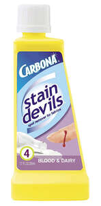 Carbona  Stain Devils Blood & Dairy  No Scent Stain Remover  Liquid  1.7 oz.