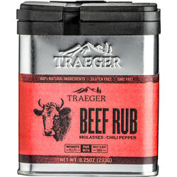 Traeger  Molasses and Chili Pepper  Beef Rub  8.25 oz.