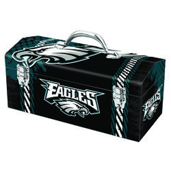 Windco  16.25 in. Steel  Philadelphia Eagles  Art Deco Tool Box  7.1 in. W x 7.75 in. H