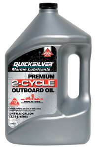 Quicksilver  Marine Lubricants  TC-W3  2 Cycle Engine  Motor Oil  1 gal.