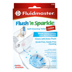 Fluidmaster  Flush N' Sparkle  No Scent Continuous Toilet Cleaning System  2 display Liquid