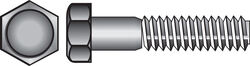 Hillman  3/8 in. Dia. x 5 in. L Hot Dipped Galvanized  Steel  Hex Bolt  50 pk