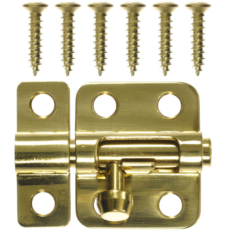 Ace  Brass  Brass  Barrel Bolt