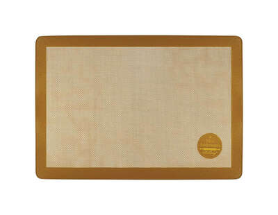 Mrs. Anderson's Baking 11-5/8 in. W x 16-1/2 in. L Baking Mat Tan 1 pk