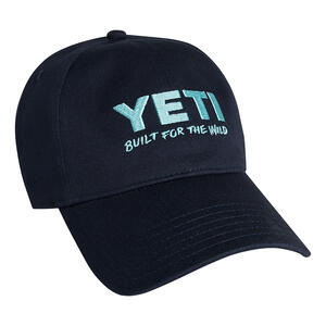 YETI  Low Profile  Unisex Hat  Navy and Seafoam  One Size Fits Most