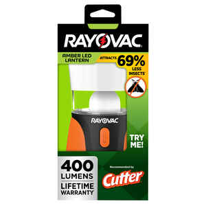 Rayovac  Black/Orange  Lantern