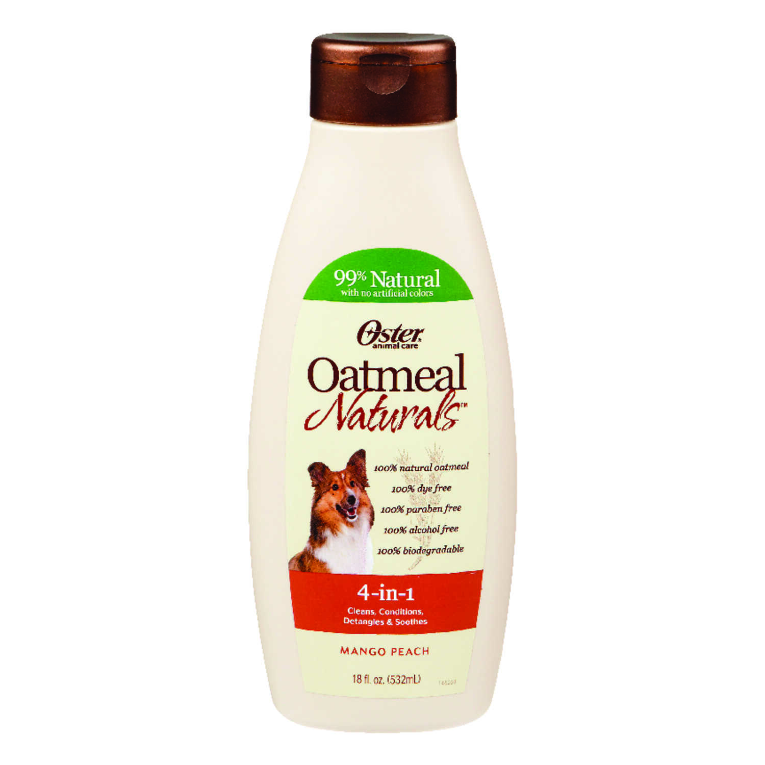 Oster  For Dog Conditioner  18 oz. Oatmeal Naturals