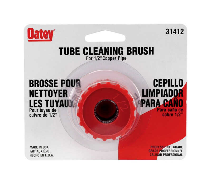 Oatey  Tube Cleaning Brush