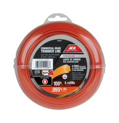Ace  Premium  Commercial Grade  0.095 in. Dia. x 100 ft. L Trimmer Line