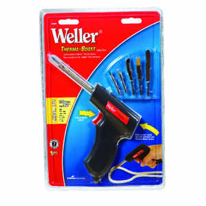Weller  11.6 in. Corded  Soldering Gun Kit  130 watts Black  1 pk