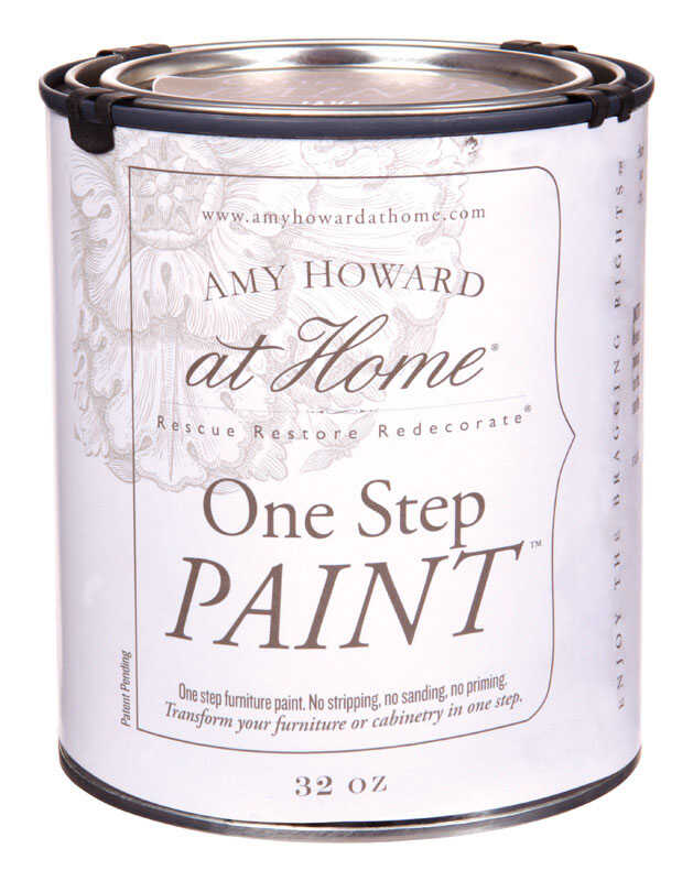 Amy Howard at Home  Java  Latex  One Step Paint  32 oz. Flat Chalky Finish