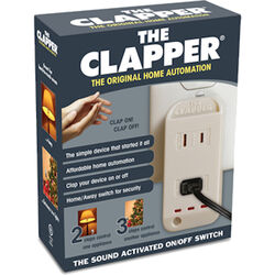 The Clapper  Sensor  Control  White  1 pk