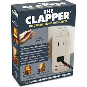 The Clapper Sensor Control White