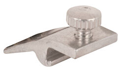 Prime-Line  Mill  Aluminum  Storm Door Panel Clip  For 1/2 inch 8 pk