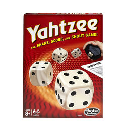 Hasbro  Yahtzee Classic Game  7 pc.