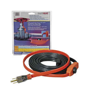 Easy Heat  AHB  15 ft. L Heating Cable  For Water Pipe Heating Cable