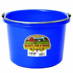 Miller  8 qt. Bucket  Blue