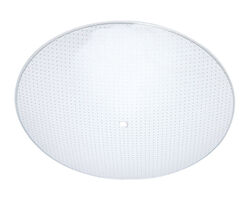 Westinghouse Round White Glass Fan/Fixture Shade 1 pk