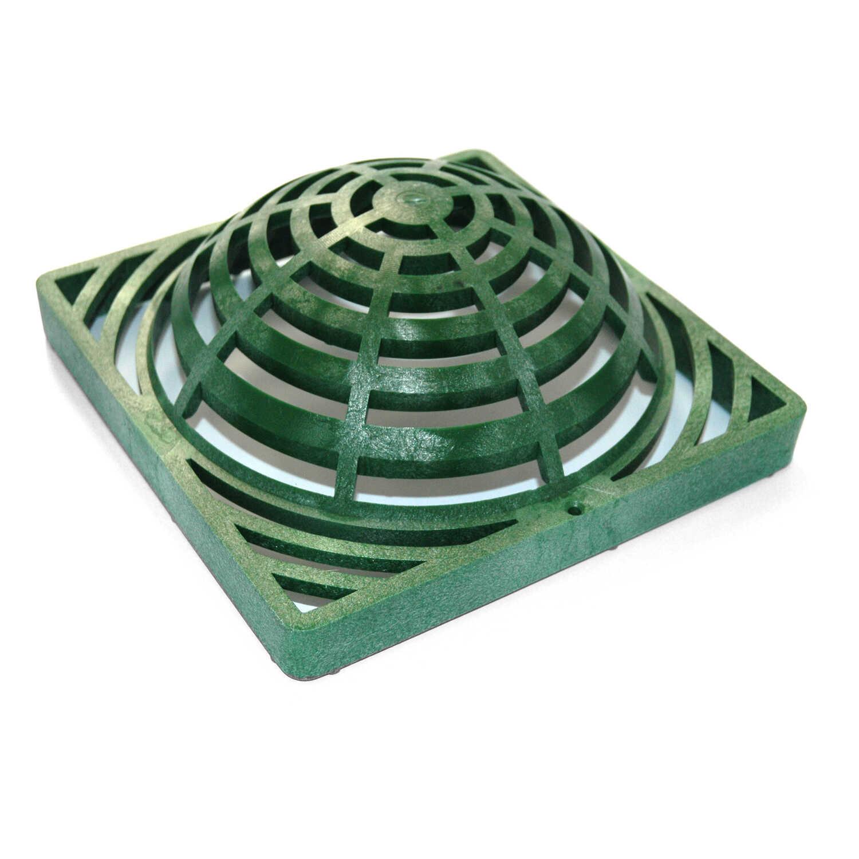 NDS 9 in  L x 9 in  W Green Polyolefin Atrium Grate - Ace Hardware