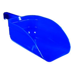 Little Giant  Plastic  Blue  5 pt. Feed Scoop