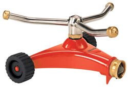 Dramm ColorStorm Metal Wheeled Base Whirling Sprinkler 1134 sq. ft.