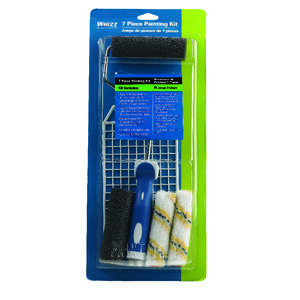 Whizz  13 in. W Mini  Paint Roller Kit  Threaded End