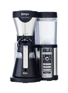 Ninja  Coffee Bar  Silver  Coffee & Espresso Maker  Black/White  44 oz.