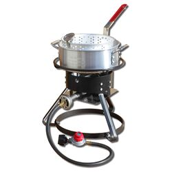 King Kooker  54000 BTU Welded Steel Frame  Outdoor Cooker  10 qt.