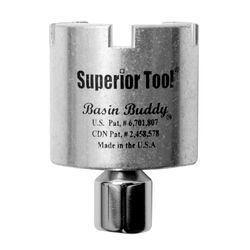 Superior Tool Basin Buddy 1-1/2 in. Faucet Nut Wrench 1/4 and 3/8 in. drive