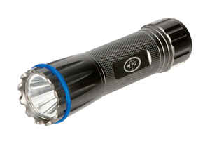 Wilmar  PT Power Firepoint Tactical  75 lumens Black  LED  Flashlight  AAA Battery