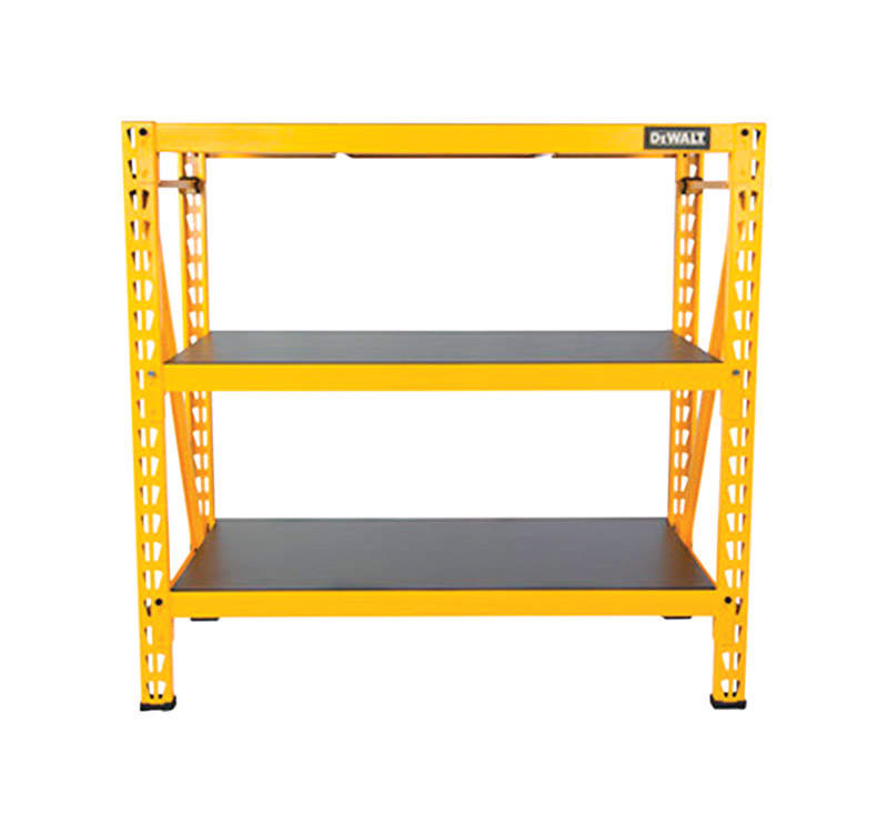 DeWalt  50 in. W x 48 in. H x 18 in. D Steel  Storage Rack  Yellow