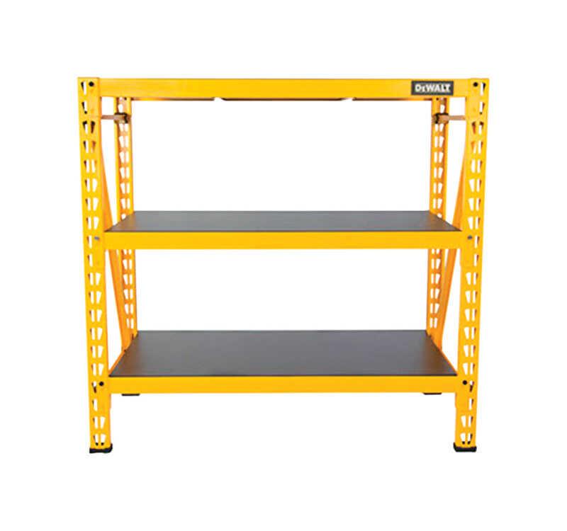 Dewalt 48 In H X 50 In W X 18 In D Yellow Shelf Rack