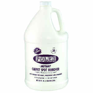 FOLEX  No Scent Carpet Stain Remover  128 oz  Liquid
