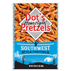 Dot's Pretzels Homestyle Southwest Pretzels 16 oz. Bagged